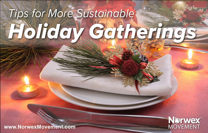 Tips for More Sustainable Holiday Gatherings